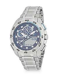 Citizen Round Stainless Steel Bracelet Watch SILVE