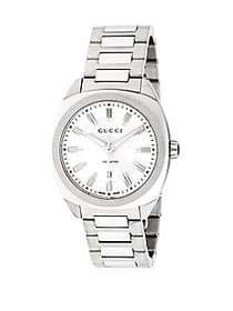 Gucci Stainless Steel Analog Bracelet Watch STAINL