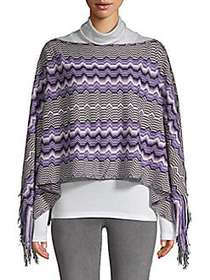 Missoni Knitted Pullover Poncho OXFORD
