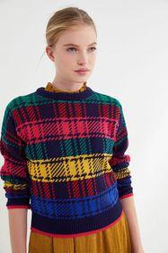 UO Andi Fitted Crew-Neck Sweater
