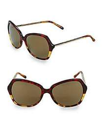 Burberry Hava Multi-Tone Tortoiseshell 57MM Butter
