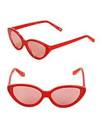 Elizabeth and James EJ 60MM Cateye Sunglasses RED