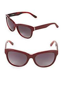 Vera Wang 54MM Butterfly Sunglasses SCARLET
