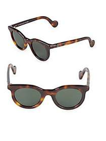 Moncler 47MM Cat-Eye Sunglasses HAVANA