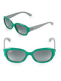 Ray-Ban 55MM Square Sunglasses GREEN