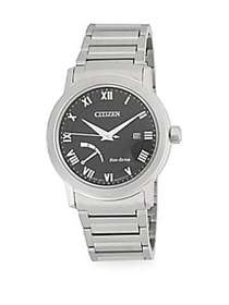 Citizen Stainless Steel Eco-Drive Analog Bracelet