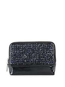 3.1 Phillip Lim 31 Minute Sequined Pouch SAPPHIRE