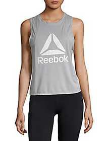 Reebok Throwback Crop Top SILVER