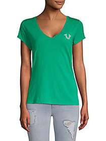 True Religion Soft V-Neck Tee JADE