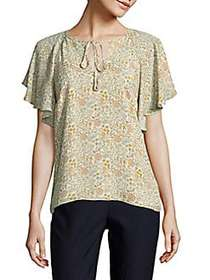 Prose & Poetry Bree Butterfly Sleeve Top PRISTINE