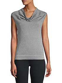 prins Cowlneck Sweater SILVER