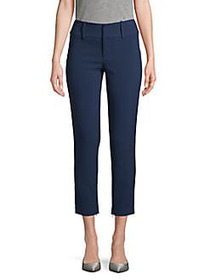 Alice + Olivia High-Rise Ankle Pants SAPPHIRE