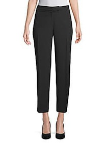 Anne Klein Relaxed-Fit Classic Pants BLACK