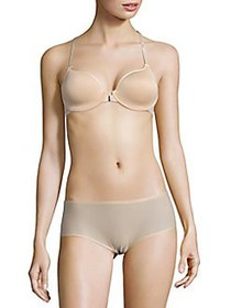 Chantelle C Ideal Lightweight Racerback Bra NUDE B