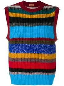 Missoni striped knitted vest
