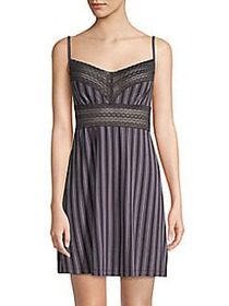 Saks Fifth Avenue COLLECTION Lori Striped Chemise