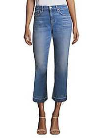 7 For All Mankind Kiki Cropped Jeans DESERT OASIS