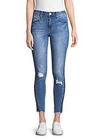Seven7 Ankle Skinny Jeans BLUE REEVE