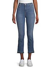 J Brand Ruby High-Rise Cropped Jeans LIGHT BLUE