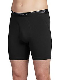 Jockey 3-Pack Essential Fit MaxStretch Midway Brie