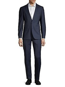HUGO Henry Griffin Wool Suit NAVY