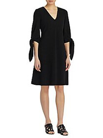 Lafayette 148 New York Kenna Knee-Length Dress BLA
