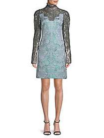 Lanvin Lace Day Dress LIGHT BLUE