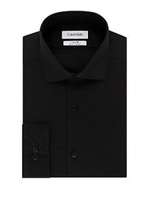 Calvin Klein Slim-Fit Non-Iron Stretch Dress Shirt