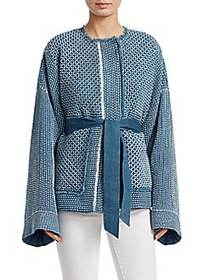 Elizabeth and James Hayden Quilted Jacket LIGHT DE