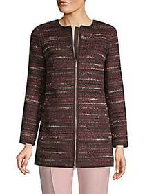 Lafayette 148 New York Pria Textured Jacket SHIRAZ