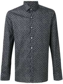 Lanvin all-over print shirt