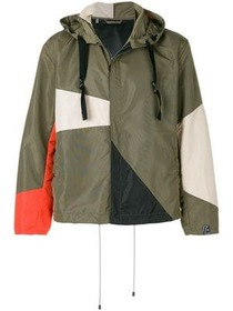 Lanvin colour block windbreaker
