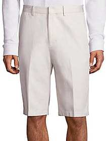 Vince Relaxed-Fit Cotton Linen Shorts STONE
