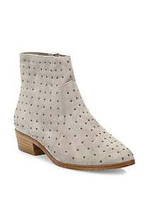 Joie Lacole Studded Suede Booties GRAVEL