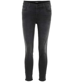 J Brand Selena cropped mid-rise skinny jeans