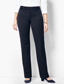 Talbots Refined Bi-Stretch Barely Boot Pants - Cur