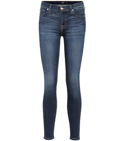 7 For All Mankind Aubrey mid-rise skinny jeans