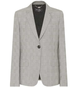 Salvatore Ferragamo Checked wool blazer