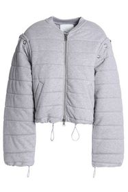 3.1 PHILLIP LIM Convertible quilted cotton-jersey