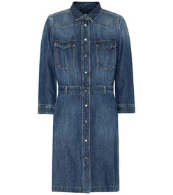 7 For All Mankind Victoria denim shirt dress
