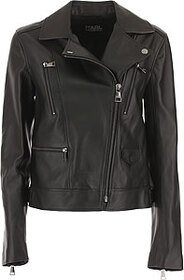 Karl Lagerfeld Leather Jacket for Women