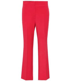 Fendi Wool-blend cropped pants