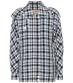 Burberry Checked Harrington jacket