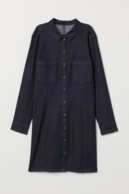 H&M+ Fitted Shirt Dress