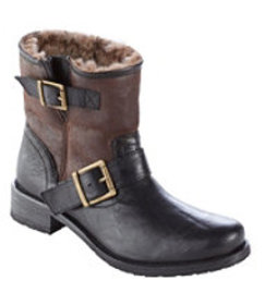 LL Bean Women's Brenna Shearling-Lined Boots by Tr