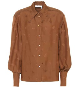 Chloé Embroidered blouse