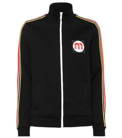 Miu Miu Cotton-blend track jacket