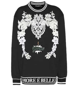 Dolce & Gabbana Embroidered cotton sweatshirt