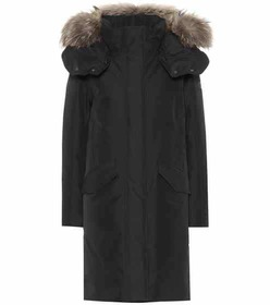 Woolrich Adirondack fur-trimmed down coat