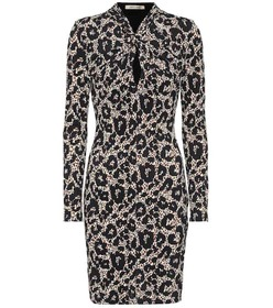 Roberto Cavalli Long-sleeved minidress